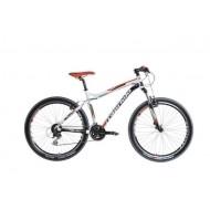 Bicicleta Capriolo Gila 26 alb/negru/rosu 56 cm