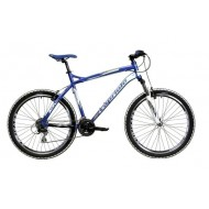 Bicicleta Capriolo Gila 26 albastru/alb/argintiu 50 cm