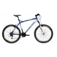 Bicicleta Capriolo Gila 26 albastru/alb/argintiu 56 cm