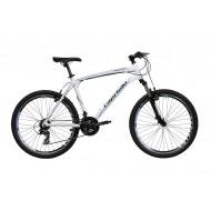 Bicicleta Capriolo Monitor FS Amort alb/negru 51 cm