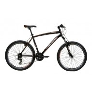 Bicicleta Capriolo Monitor FS Amort negru/portocaliu 51 cm
