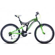 Bicicleta Capriolo CTX 240 24 verde/negru