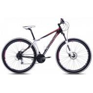 Bicicleta Capriolo Niner 9 29 negru/alb/rosu 43 cm
