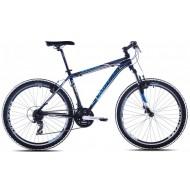 Bicicleta Capriolo Monitor FS MAN negru/albastru 56 cm