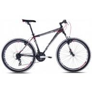 Bicicleta Capriolo Monitor FS MAN negru/alb/rosu 56 cm