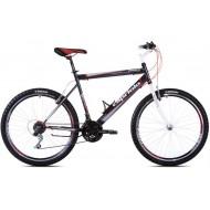 Bicicleta Capriolo Passion Man alb/negru/rosu 53 cm