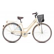 Bicicleta Capriolo Amsterdam Lady 28 crem 47 cm