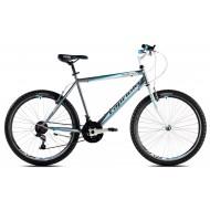 Bicicleta Capriolo Passion Man gri/alb/albastru 58 cm