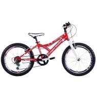 Bicicleta Capriolo 20 Diavolo 200 alb/rosu/argintiu