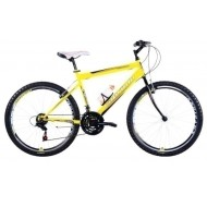 Bicicleta Capriolo Passion Man black-yellow-red 19