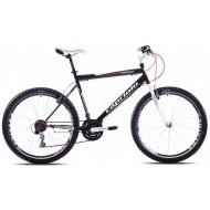 Bicicleta Capriolo Passion Man alb/negru/rosu 58 cm