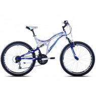 Bicicleta Capriolo CTX 240 24 albastru/negru/verde