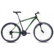 Bicicleta Capriolo Monitor FS Amort black-neon green 18