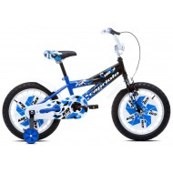 Bicicleta Capriolo Kid Boy 16 albastru/negru/alb