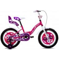 Bicicleta Capriolo Viola Girl pink-white-violet 16