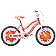 Bicicleta Capriolo Sunny Girl white-red-orange 20