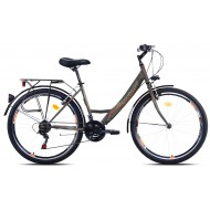 Bicicleta Capriolo Metropolis Lady 26 black-orange 17