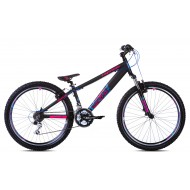 Bicicleta Capriolo Fireball 26 black-pink