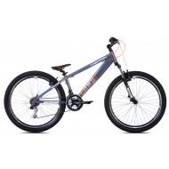 Bicicleta Capriolo Fireball 26 gri/portocaliu 33 cm