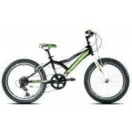 Bicicleta Capriolo 20 Diavolo 200 black-green