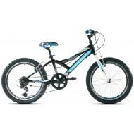 Bicicleta Capriolo 20 Diavolo 200 negru/albastru