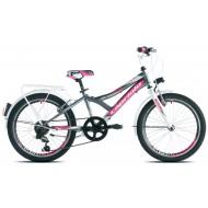 Bicicleta Capriolo 20 Diavolo 200 CITY graphite-pink
