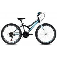 Bicicleta Capriolo 24 Diavolo 400 black-blue