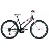 Bicicleta Capriolo Passion Lady black-white-pink 17