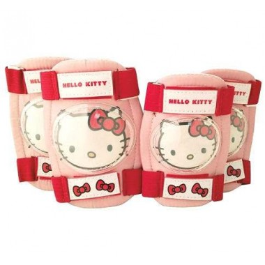 Protecţii coate-genunchi HELLO KITTY