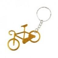 Breloc cu bicicleta auriu