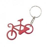 Breloc cu bicicleta roșu