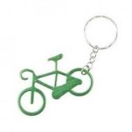 Breloc cu bicicleta verde