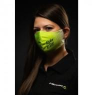 Masca protectie reutilizabila BIKEFUN M alb verde