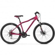 "Bicicleta KROSS Lea 4.0 26"" roz/negru/gri XS"