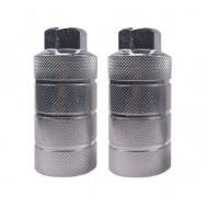 Peguri aluminiu 10x40x110mm (filet Ø10mm) argintiu