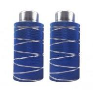 Peguri aluminiu 10x40x110mm (filet Ø10mm) albastru