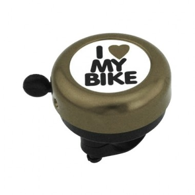 Sonerie I Love My Bike / negru