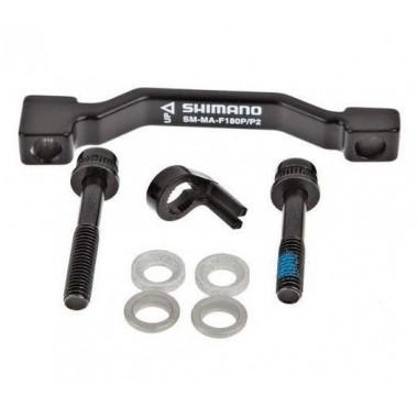 Adaptor SHIMANO de la cadru/furcă PM 160 mm la etrier PM Pentru disc 180 mm