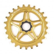 Foaie angrenaj BMX WTP Turmoil 14 Spline Drive 25T auriu