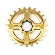 Foaie angrenaj BMX ECLAT Channel 14 Spline Drive 23T auriu