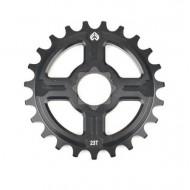 Foaie angrenaj BMX ECLAT Channel 14 Spline Drive 25T negru
