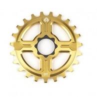 Foaie angrenaj BMX ECLAT Channel 14 Spline Drive 25T auriu