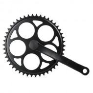 Angrenaj pedalier SXT - ax pătrat - single speed 46T