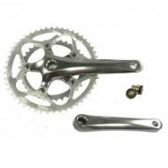 Angrenaj pedalier ALTRIX - ax isis - 2x5/8V brațe 170 mm