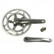 Angrenaj pedalier ALTRIX - ax isis - 2x5/8V brațe 172.5 mm