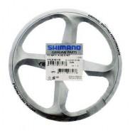 Apărătoare angrenaj SHIMANO Tourney FC-M171-A 48T / argintiu