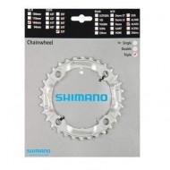 Foaie angrenaj SHIMANO Alivio FC-M430-8 3x9V 32T / PCD 104 mm / argintiu