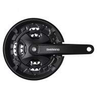 Angrenaj pedalier SHIMANO FC-MT101 3x9V 175 mm / 44x32x22T
