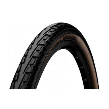 Anvelopă CONTINENTAL Ride Tour 26x1.75 (47-559) ProTection - negru/maro