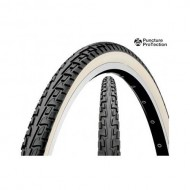 Anvelopă CONTINENTAL Ride Tour 26x1.75 (47-559) ProTection - negru/alb